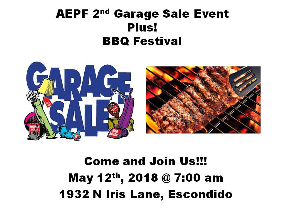 aepf-2nd-garage-sale-event
