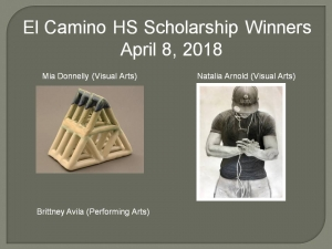 el-camino-high-school-winners